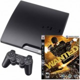 Sony PlayStation PS3 320GB + Wanted: Weapons of Fate