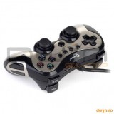 Gamepad Gembird JPD-FFB-M, Vibration feedback, 2 interface PlayStation 2/3 / USB, mod digital / anal