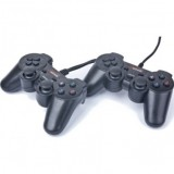 Gamepad Gembird JPD-ST02, USB, 4-way D-pad and 10 programmable buttons, pachet 2 dispozitive