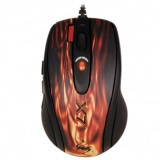 Mouse A4TECH XL-750BK-2 Full Speed Oscar Laser, USB, 6 dpi shift (max 3600 DPI), Fiery Red/Black